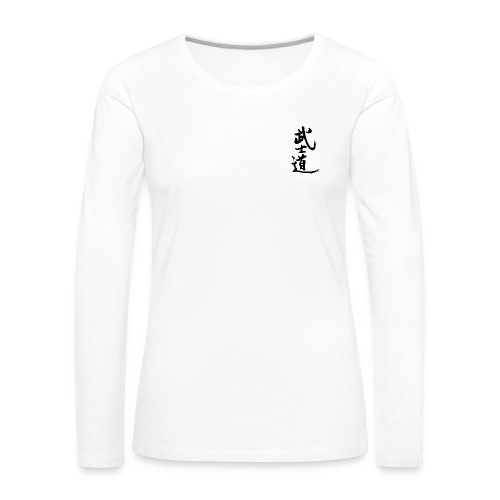 Frauen Langarm-Shirt weiß - Frauen Premium Langarmshirt