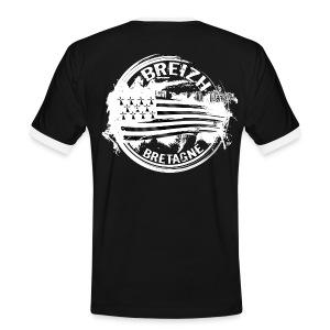 Breizh Bretagne - T-shirt contrasté Homme