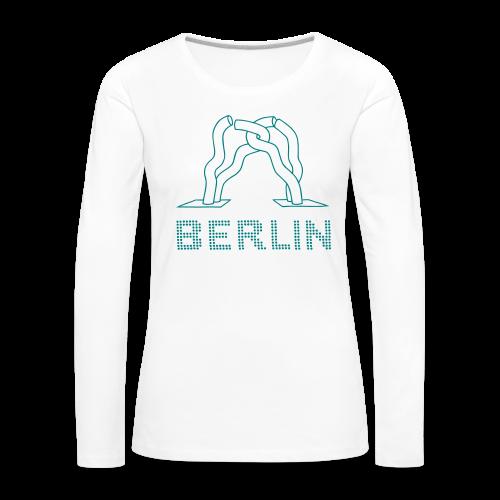 Berlin-Skulptur aufm Tauentzien - Frauen Premium Langarmshirt