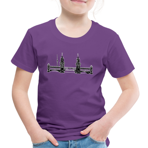 Oberbaumbrücke in Berlin 2 - Kinder Premium T-Shirt