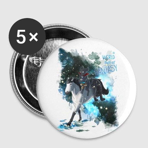 SAMMY BUTTONS - Silver and Friends - Buttons mittel 32 mm