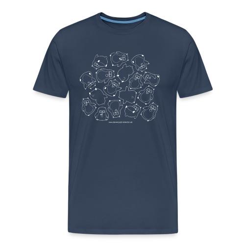 Haufen Hamster (w) - Männer Premium T-Shirt