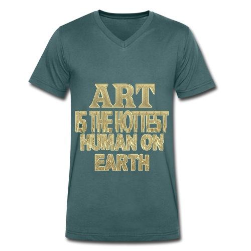 ART  - Männer Bio-T-Shirt mit V-Ausschnitt von Stanley & Stella