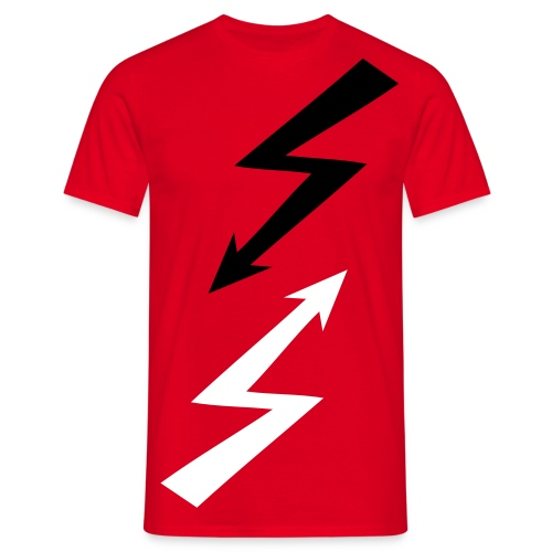 ray flash shock - mirror - Men's T-Shirt
