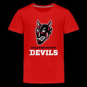 Teenager Premium T-Shirt in Rot - Teenager Premium T-Shirt