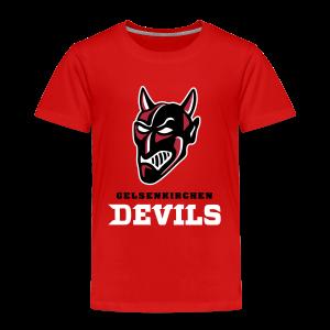 Kinder Premium T-Shirt in Rot - Kinder Premium T-Shirt