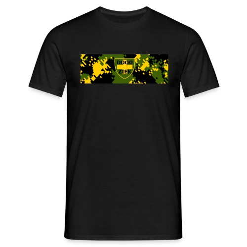 t met camo doodziek - Mannen T-shirt