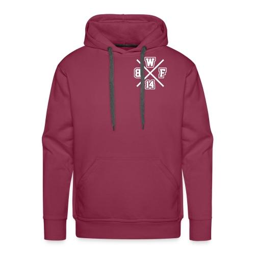 Premium Pulli Unisex // BWF Crewlogo + Backprint - Männer Premium Hoodie