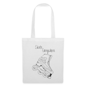 Snow skate everywhere - Tote Bag