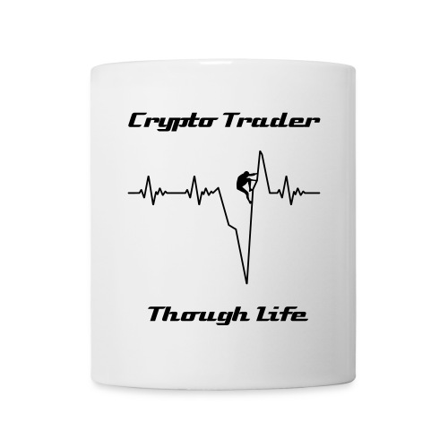 Crypto Trader - Though Life - Tasse