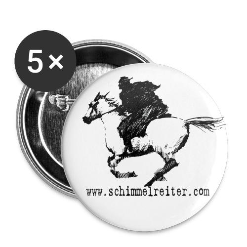 Schimmelreiter - Buttons groß 56 mm