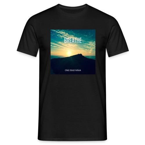 Mens's 'Breathe' T-shirt - Men's T-Shirt