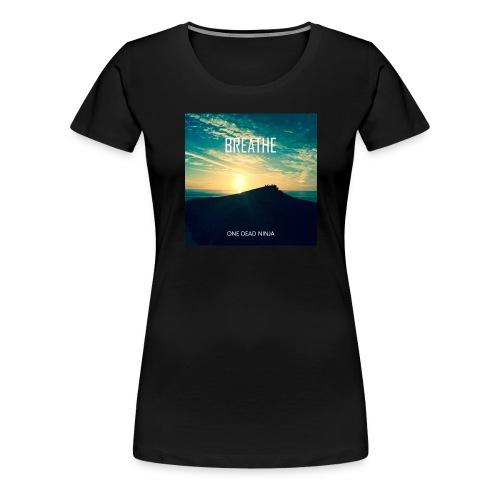 Women's Premium 'Breathe' T-shirt - Women's Premium T-Shirt