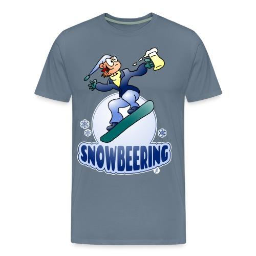 Snowbeering oder Snowboarden - Männer Premium T-Shirt