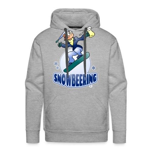 Snowbeering oder Snowboarden - Männer Premium Hoodie