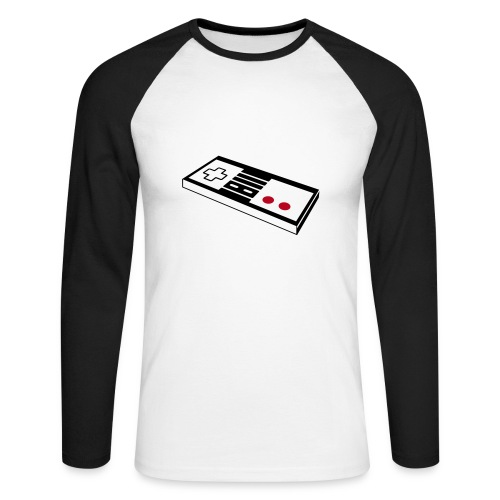 Keyboard - Männer Baseballshirt langarm