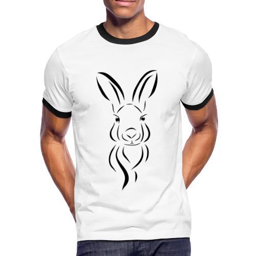 Karl Kurve - Männer Kontrast-T-Shirt