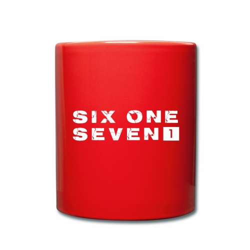 Six One Seven 1 |  Colour Mug | RED - Full Colour Mug