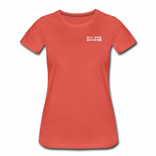 Six One Seven 1   Premium T-Shirt   POMEGRANATE - Women's Premium T-Shirt
