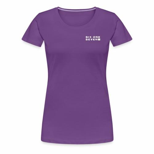 Six One Seven 1   Premium T-Shirt   PURPLE - Women's Premium T-Shirt