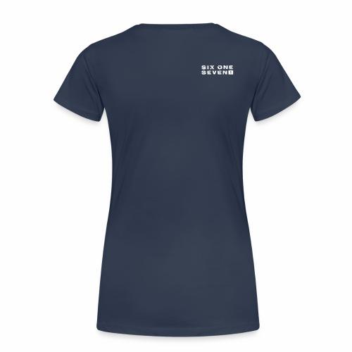 Six One Seven 1 | Premium T-Shirt | NAVY - Women's Premium T-Shirt