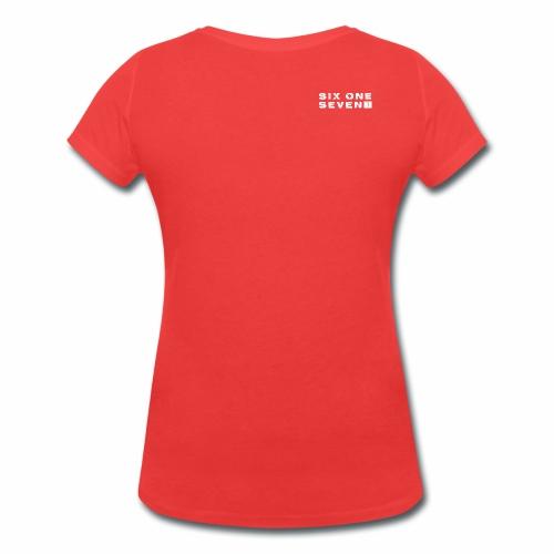 Six One Seven 1   Organic V-Neck T-Shirt   CORAL - Women's Organic V-Neck T-Shirt by Stanley & Stella