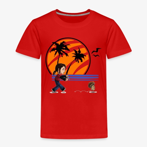 Chasing Champing Pong - Kinder Premium T-Shirt
