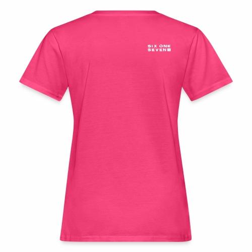 Six One Seven 1 |  Organic T-Shirt | NEON PINK - Women's Organic T-Shirt