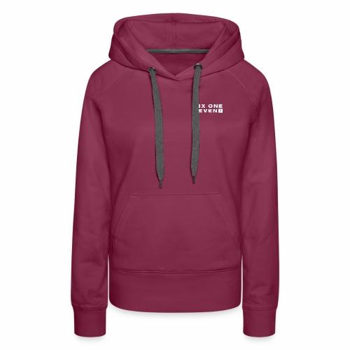 Six One Seven 1 | Premium Hoodie | BORDEAUX - Women's Premium Hoodie