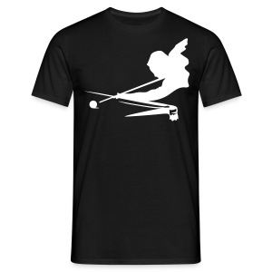 aiming player - Men's T-Shirt