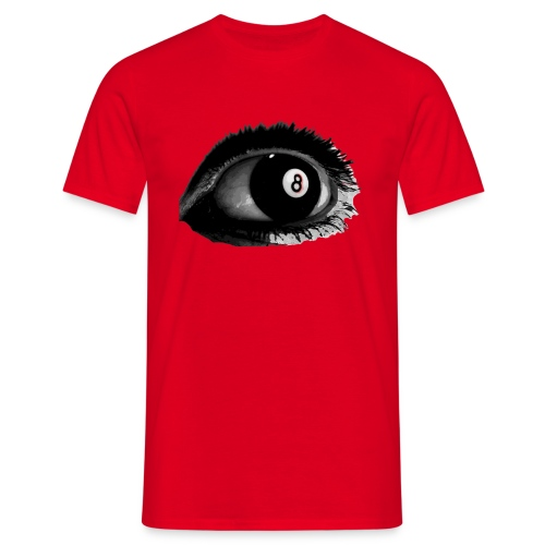 Eye 8ball red - T-shirt Homme