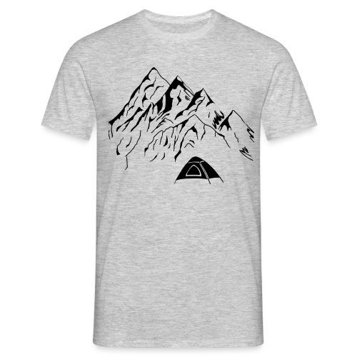 Camping Männer T-Shirt  - Männer T-Shirt