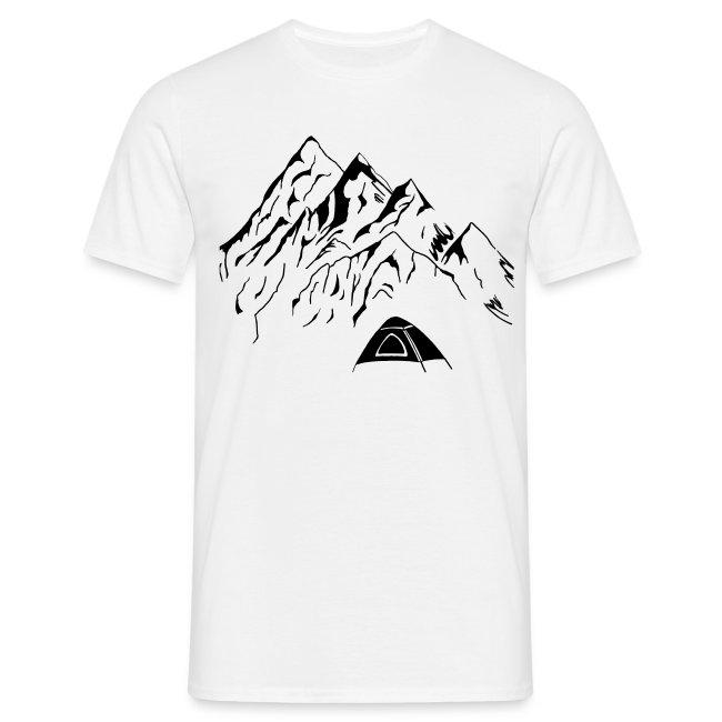 Camping Männer T-Shirt