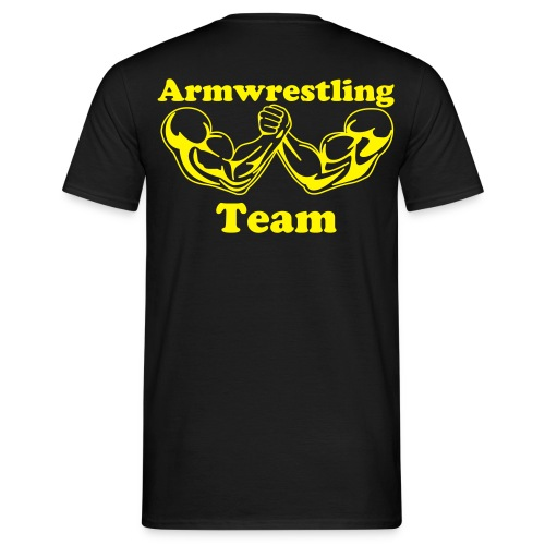 Armwrestling T-shirt, template - Men's T-Shirt