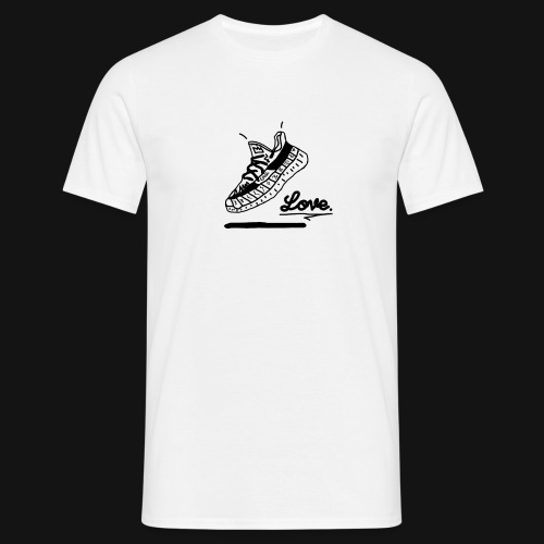 Love. T-Shirt - Männer T-Shirt
