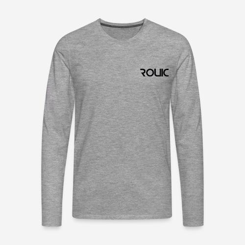 Rouic Longsleeve Black Design - Men's Premium Longsleeve Shirt