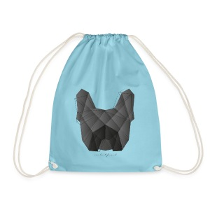 Geometric Frenchie black