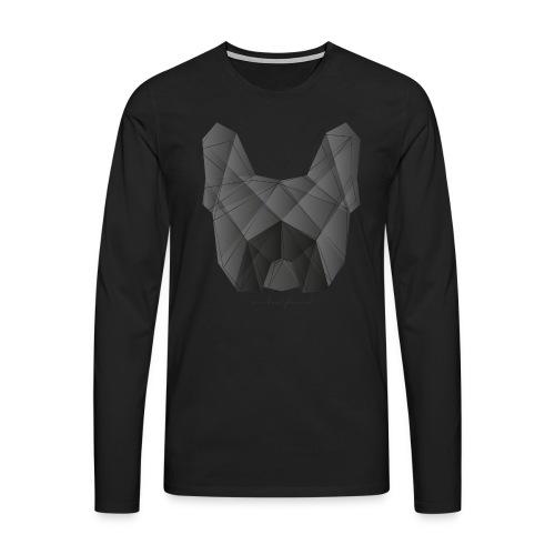 Geometric Frenchie black