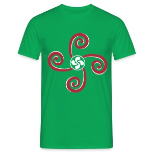 Croix Basque - Lauburu - T-shirt Homme