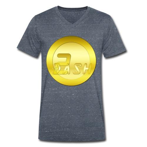 2 Dashcoin - Männer Bio-T-Shirt mit V-Ausschnitt von Stanley & Stella