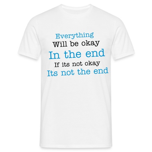Everything is okay (Mens) - Men's T-Shirt