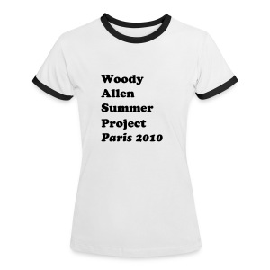 WASP Paris 2010 - Women's Ringer T-Shirt