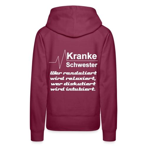 Sweatshirt Relaxiert - Frauen Premium Hoodie