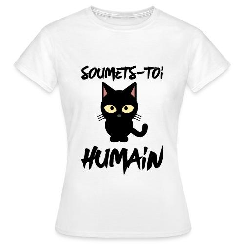 T-shirt Femme, Nuréa : Soumets-Toi - T-shirt Femme
