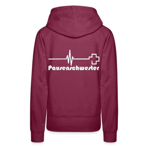 Sweatshirt Pause - Frauen Premium Hoodie