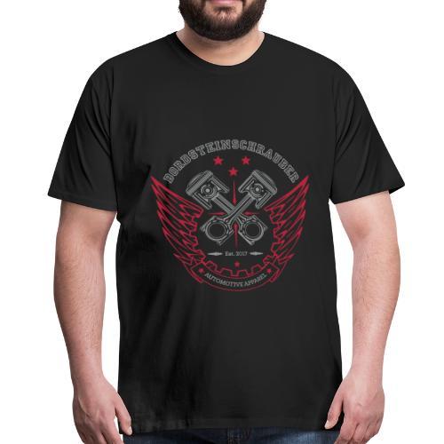 BRDSTN Classic 01 Big Black Premium - Männer Premium T-Shirt