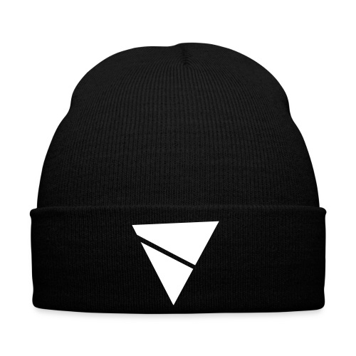 NEW - Schwarzes Triangle Beanie - Winter Hat