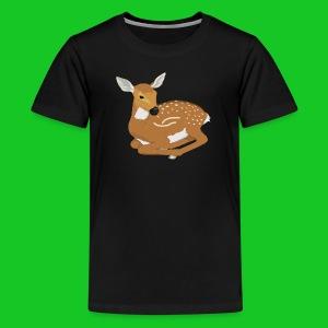Hertenjong teenager t-shirt - Teenager Premium T-shirt