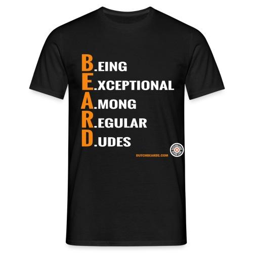 B.E.A.R.D. - Mannen T-shirt