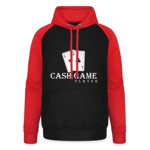 Poker Cash Game Player  - Unisex Baseball Hoodie